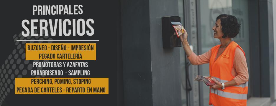 servicios de buzoneo en empresa buzoneo Barcelona